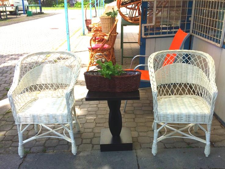 fotele z wikliny